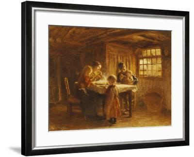 The Family Meal-Bernardus Bloomers-Framed Giclee Print