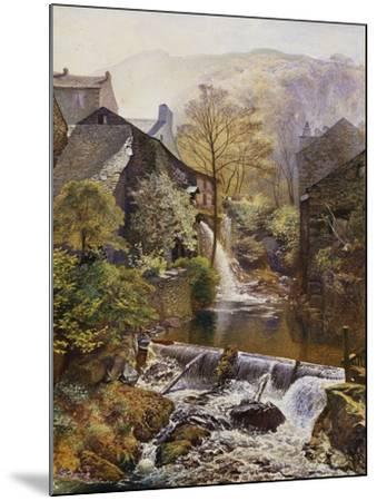 The Old Water Mill-James Duffield Harding-Mounted Giclee Print
