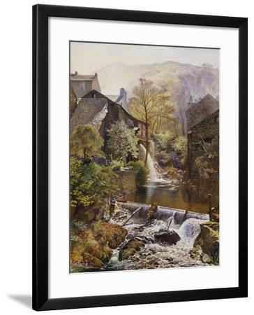 The Old Water Mill-James Duffield Harding-Framed Giclee Print