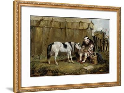Circus, Pony and Clown-Samuel Henry Alken-Framed Giclee Print