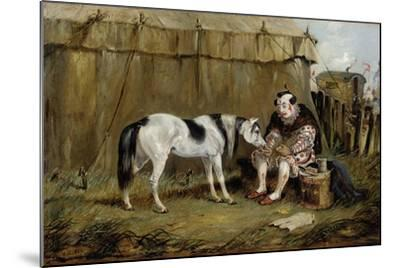 Circus, Pony and Clown-Samuel Henry Alken-Mounted Giclee Print