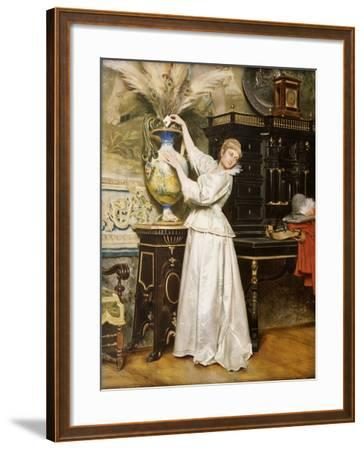 The Secret Postbox, 1876-Tito Conti-Framed Giclee Print