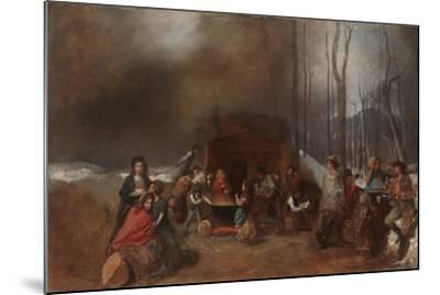 Sugaring Off, C.1865-Eastman Johnson-Mounted Giclee Print