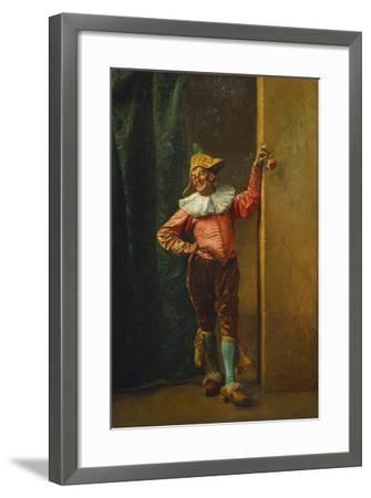 Polichinelle in Pink, 1879-Jean-Louis Ernest Meissonier-Framed Giclee Print