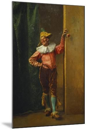 Polichinelle in Pink, 1879-Jean-Louis Ernest Meissonier-Mounted Giclee Print