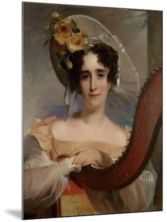 Mademoiselle Ade Sigoigne, 1829-Thomas Sully-Mounted Giclee Print