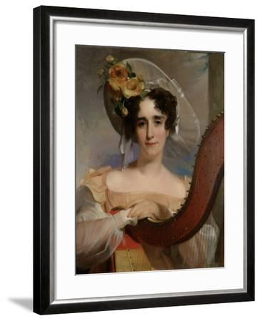 Mademoiselle Ade Sigoigne, 1829-Thomas Sully-Framed Giclee Print