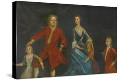 Group Portrait of the Arundell Family of Wardour--Stretched Canvas Print