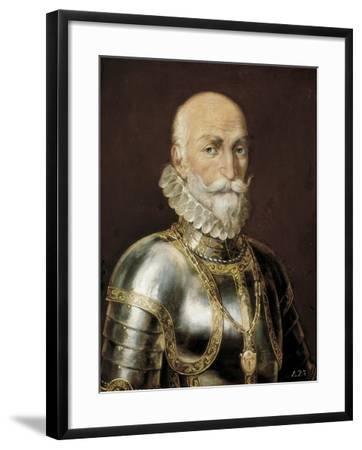 Alvaro De Bazan, 1828-Rafael Tejeo-Framed Giclee Print