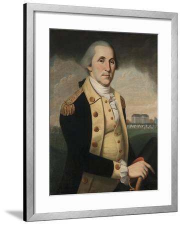 George Washington, 1790-93-Charles Peale Polk-Framed Giclee Print