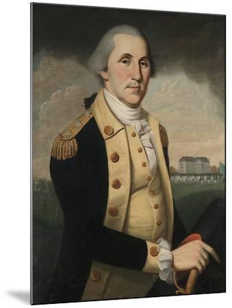 George Washington, 1790-93-Charles Peale Polk-Mounted Giclee Print