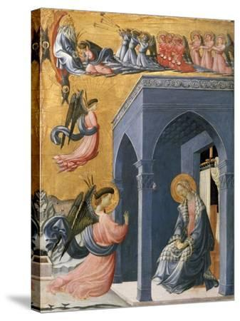 The Annunciation-Paolo Uccello-Stretched Canvas Print