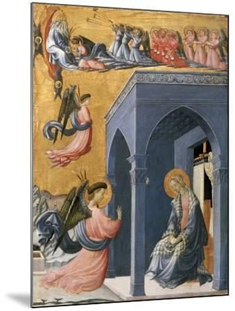 The Annunciation-Paolo Uccello-Mounted Giclee Print