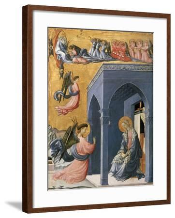 The Annunciation-Paolo Uccello-Framed Giclee Print