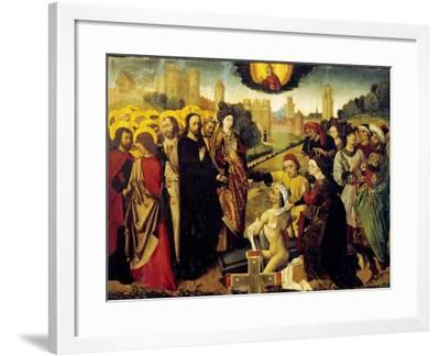 Christ's Miracles--Framed Giclee Print