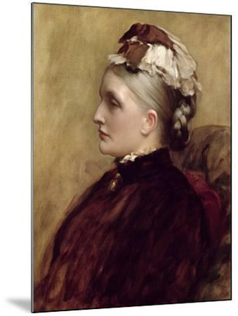 Alexandra Leighton (Mrs Sutherland Orr) (1827-1903), 1891-Frederic Leighton-Mounted Giclee Print