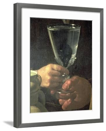 Waterseller of Seville (Detail)-Diego Velazquez-Framed Giclee Print
