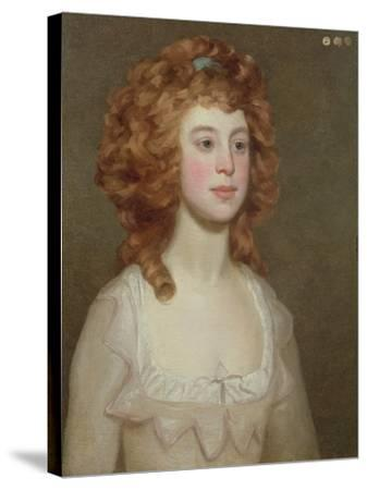 Portrait of a Young Woman, C.1790-Philip Reinagle-Stretched Canvas Print