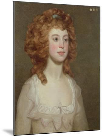 Portrait of a Young Woman, C.1790-Philip Reinagle-Mounted Giclee Print