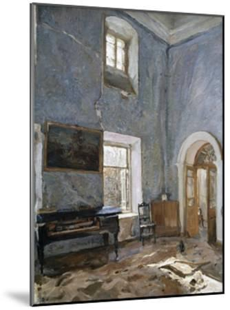The Hall in the Old House, the Obinskys' Estate, Belkino-Valentin Aleksandrovich Serov-Mounted Giclee Print