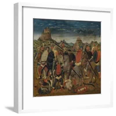 The Death of Uriah the Hittite-Bernardino Luini-Framed Giclee Print