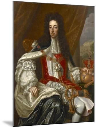 Portrait of King William III-Frans van Stampart-Mounted Giclee Print