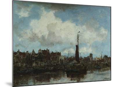 A View of Amsterdam-Jacob Henricus Maris-Mounted Giclee Print