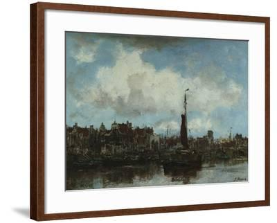 A View of Amsterdam-Jacob Henricus Maris-Framed Giclee Print