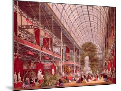 The Transept at the Great Industrial Exhibition of 1851-Joseph Nash-Mounted Giclee Print