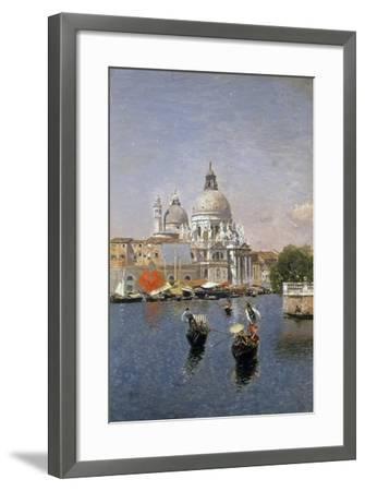 Santa Maria Della Salute, Venice-Martin Rico y Ortega-Framed Giclee Print