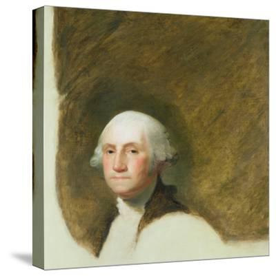 Portrait of George Washington-Jane Stuart-Stretched Canvas Print