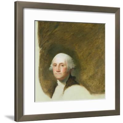 Portrait of George Washington-Jane Stuart-Framed Giclee Print