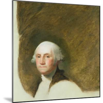 Portrait of George Washington-Jane Stuart-Mounted Giclee Print