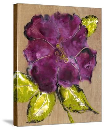 Camellia Passion I-Alicia Ludwig-Stretched Canvas Print