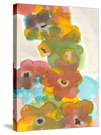 Floral Cascade I-Jodi Fuchs-Stretched Canvas Print
