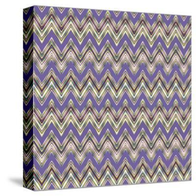 Chevron Waves IV-Katia Hoffman-Stretched Canvas Print