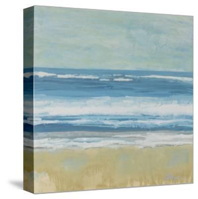 Puddle Beach-Dlynn Roll-Stretched Canvas Print