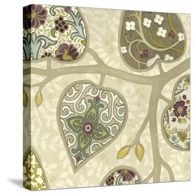 Patterns in Foliage IV-June Erica Vess-Stretched Canvas Print