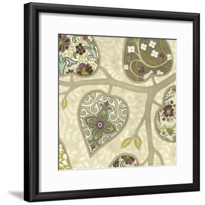 Patterns in Foliage IV-June Erica Vess-Framed Art Print