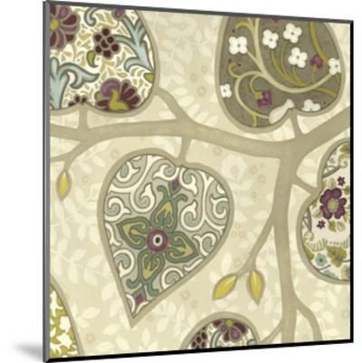 Patterns in Foliage IV-June Erica Vess-Mounted Art Print