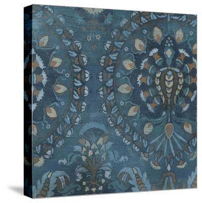 Aged Indigo III-June Erica Vess-Stretched Canvas Print