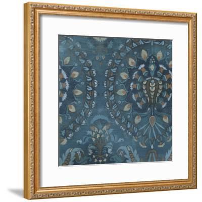 Aged Indigo III-June Erica Vess-Framed Art Print
