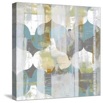 Arabesque Abstract I-Jennifer Goldberger-Stretched Canvas Print