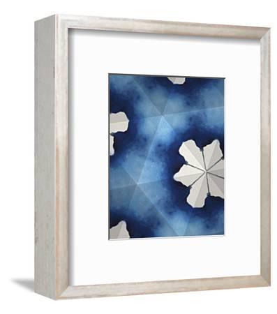 Indigo Daydream IV-Renee W^ Stramel-Framed Art Print