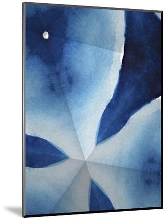 Indigo Daydream V-Renee W^ Stramel-Mounted Art Print