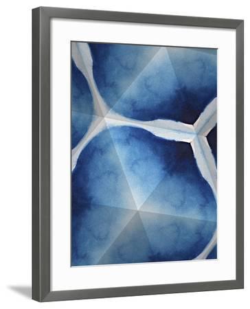 Indigo Daydream VII-Renee W^ Stramel-Framed Art Print