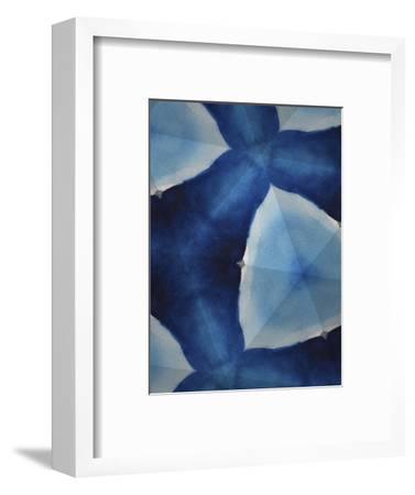 Indigo Daydream VIII-Renee W^ Stramel-Framed Art Print