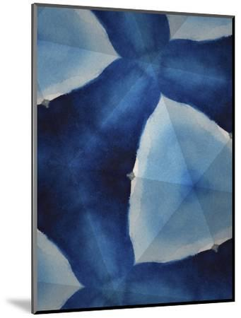 Indigo Daydream VIII-Renee W^ Stramel-Mounted Art Print