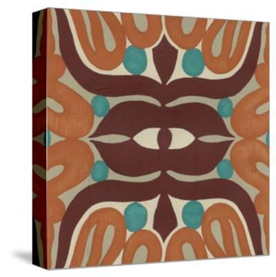 Global Motif II-June Erica Vess-Stretched Canvas Print