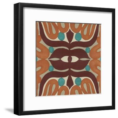 Global Motif II-June Erica Vess-Framed Art Print